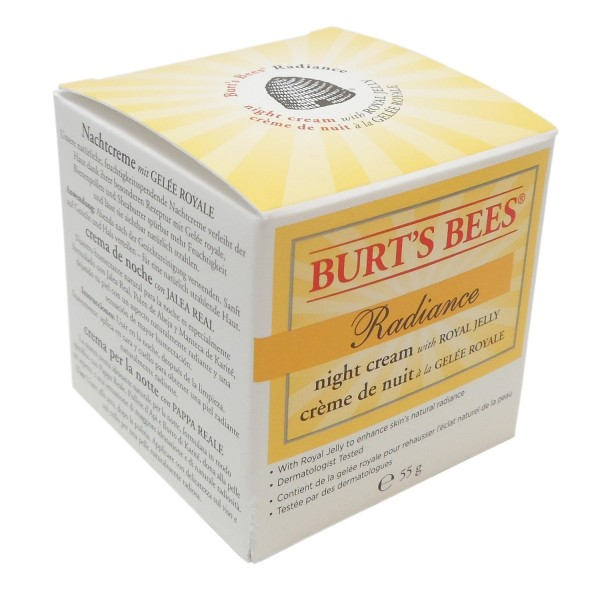 Burt's Bees Radiance Night Cream Nachtgesichtscreme